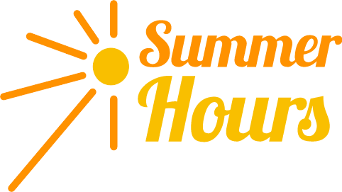 Image result for new summer hours clipart